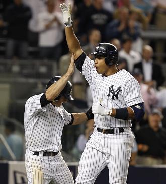 Alex Rodriguez celebrates.jpg