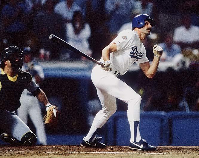 Kirk Gibson Dodgers home run