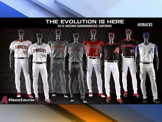 Diamondbacks uniforms
