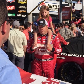 2015 Ryan Newman & daughter
