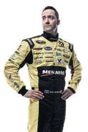 DAYTONA BEACH, FL - FEBRUARY 16: (EDITOR'S NOTE: This image has been processed using digital filters.) NASCAR Sprint Cup Series driver Paul Menard poses for a portrait during NASCAR Media Day at Daytona International Speedway on February 16, 2016 in Daytona Beach, Florida. (Photo by Jared C. Tilton/Getty Images)