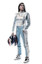 DAYTONA BEACH, FL - FEBRUARY 16: (EDITOR'S NOTE: This image has been processed using digital filters.) NASCAR Sprint Cup Series driver Danica Patrick poses for a portrait during NASCAR Media Day at Daytona International Speedway on February 16, 2016 in Daytona Beach, Florida. (Photo by Jared C. Tilton/Getty Images)
