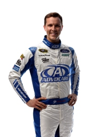 DAYTONA BEACH, FL - FEBRUARY 16: NASCAR Sprint Cup Series driver Trevor Bayne poses for a portrait during NASCAR Media Day at Daytona International Speedway on February 16, 2016 in Daytona Beach, Florida. (Photo by Jared C. Tilton/Getty Images)