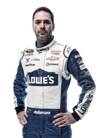 DAYTONA BEACH, FL - FEBRUARY 16: (EDITOR'S NOTE: This image has been processed using digital filters.) NASCAR Sprint Cup Series driver Jimmie Johnson poses for a portrait during NASCAR Media Day at Daytona International Speedway on February 16, 2016 in Daytona Beach, Florida. (Photo by Jared C. Tilton/Getty Images)