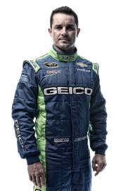 DAYTONA BEACH, FL - FEBRUARY 16: (EDITOR'S NOTE: This image has been processed using digital filters.) NASCAR Sprint Cup Series driver Casey Mears poses for a portrait during NASCAR Media Day at Daytona International Speedway on February 16, 2016 in Daytona Beach, Florida. (Photo by Jared C. Tilton/Getty Images)