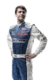 DAYTONA BEACH, FL - FEBRUARY 16: (EDITOR'S NOTE: This image has been processed using digital filters.) NASCAR Sprint Cup Series driver Landon Cassill poses for a portrait during NASCAR Media Day at Daytona International Speedway on February 16, 2016 in Daytona Beach, Florida. (Photo by Jared C. Tilton/Getty Images)