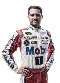 DAYTONA BEACH, FL - FEBRUARY 16: (EDITOR'S NOTE: This image has been processed using digital filters.) NASCAR Sprint Cup Series driver Brian Vickers poses for a portrait during NASCAR Media Day at Daytona International Speedway on February 16, 2016 in Daytona Beach, Florida. (Photo by Jared C. Tilton/Getty Images)