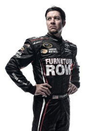 DAYTONA BEACH, FL - FEBRUARY 16: (EDITOR'S NOTE: This image has been processed using digital filters.) NASCAR Sprint Cup Series driver Martin Truex Jr. poses for a portrait during NASCAR Media Day at Daytona International Speedway on February 16, 2016 in Daytona Beach, Florida. (Photo by Jared C. Tilton/Getty Images)