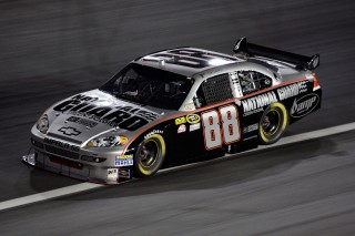 CONCORD, NC - MAY 17: Dale Earnhardt Jr. drives the #88 National Guard Chevrolet during the NASCAR Sprint All-Star Race on May 17, 2008 at Lowe's Motor Speedway in Concord, North Carolina. (Photo by John Harrelson/Getty Images for NASCAR)