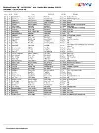 Xfinity entry list Charlotte