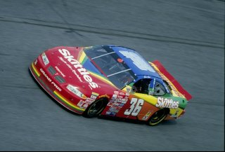 13 Feb 1998: Ernie Irvan in action during the Daytona 500 at the Daytona International Speedway at Daytona Beach, Florida. Mandatory Credit: David Taylor /Allsport