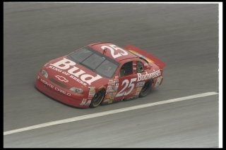 16 Feb 1997: Ricky Craven performs during the NASCAR Daytona 500 at Daytona International Speedway in Daytona Beach, Florida.
