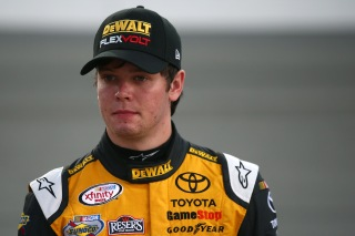 Erik Jones was second fastest in practice at Chicagoland Speedway on Friday.