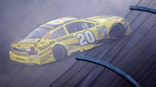 AVONDALE, AZ - NOVEMBER 13: Matt Kenseth, driver of the #20 Dollar General Toyota, has an on track incident during the NASCAR Sprint Cup Series Can-Am 500 at Phoenix International Raceway on November 13, 2016 in Avondale, Arizona. (Photo by Sean Gardner/Getty Images)